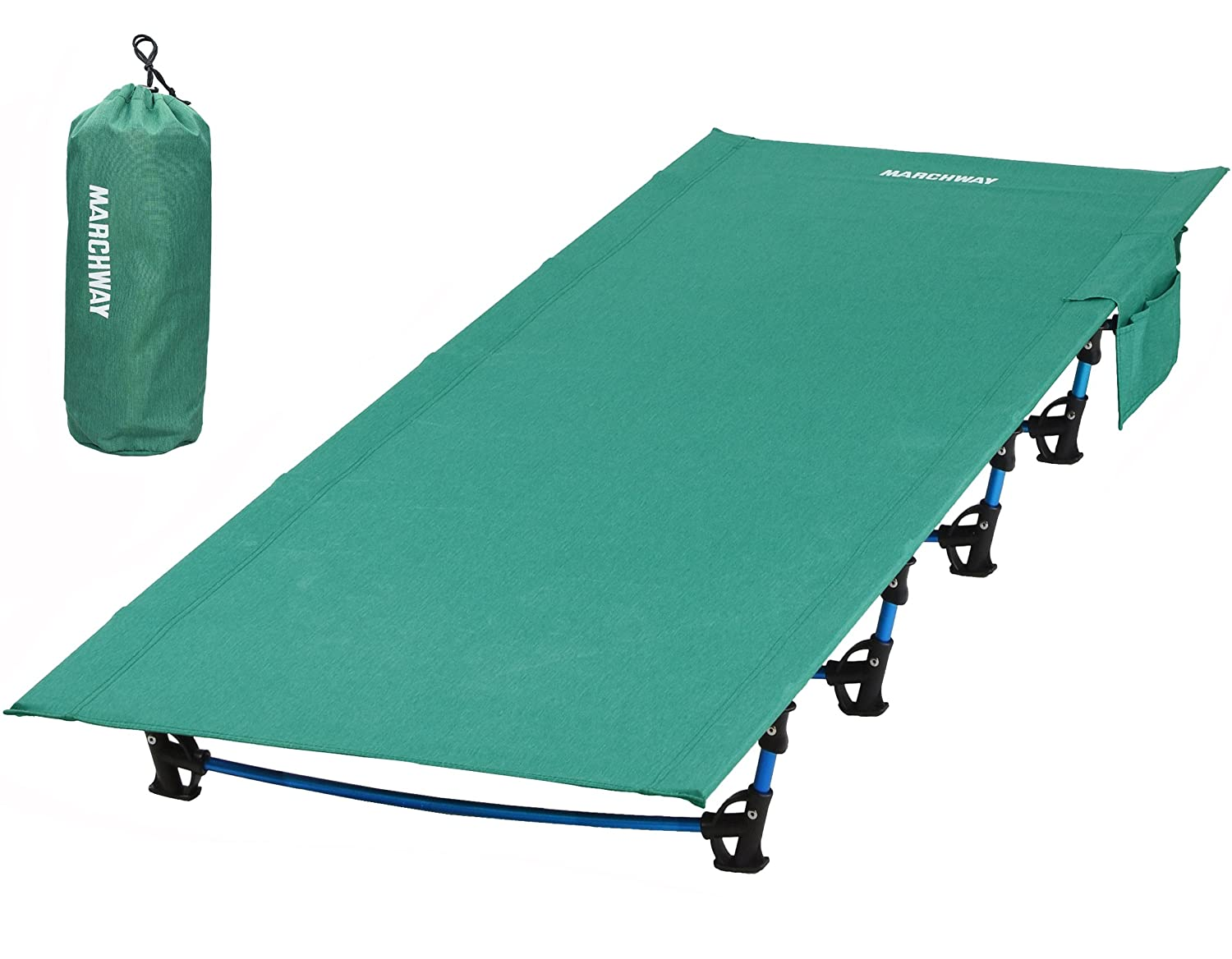 MARCHWAY Ultralight Folding Tent Camping Cot