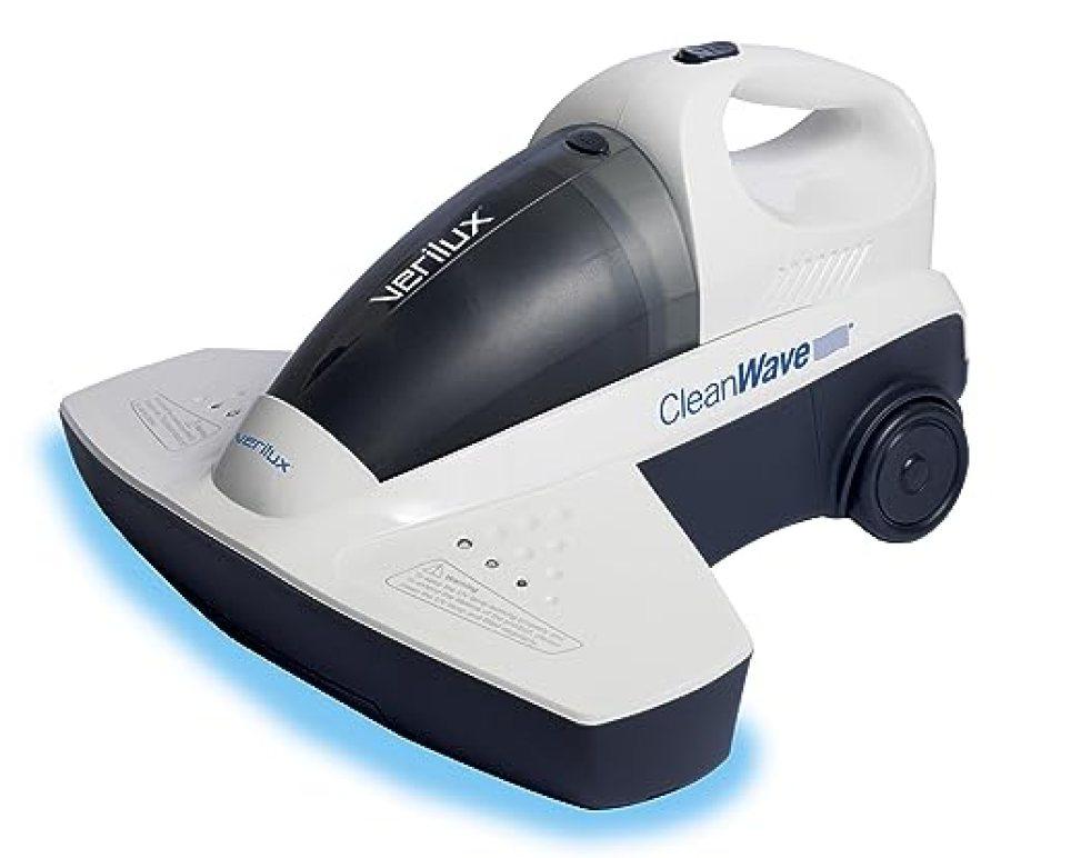 Verilux CleanWave Sanitizing Portable Vacuum, White