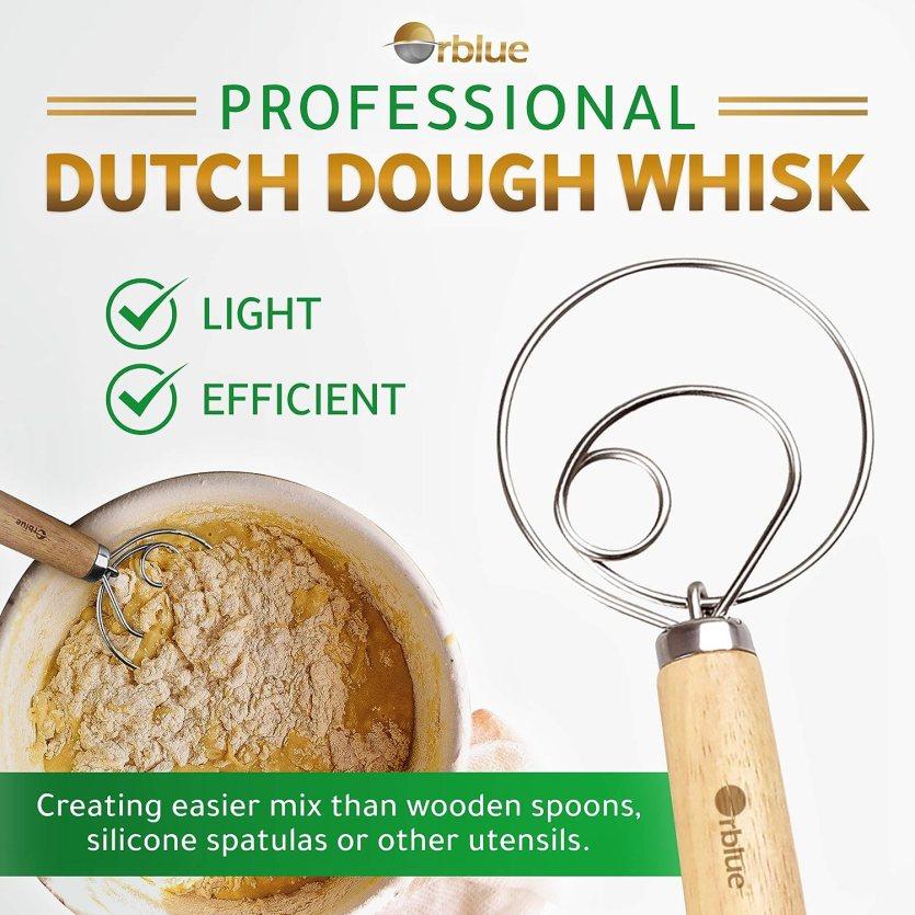 ORBLUE Premium Danish Dough Whisk
