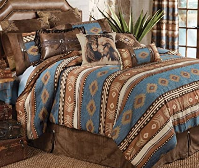 Black Forest Decor Desert Arrow Southwestern Bed Set King Western Bedding Linens
