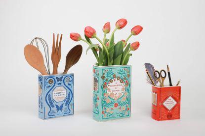 Bibliophile Ceramic Vases