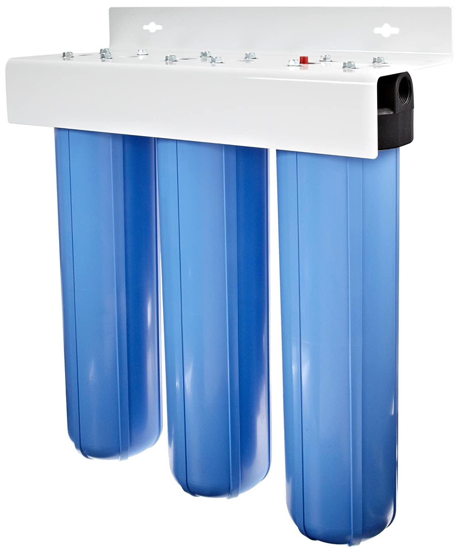 Pentek #20 Big Blue Three-Housing Filter System