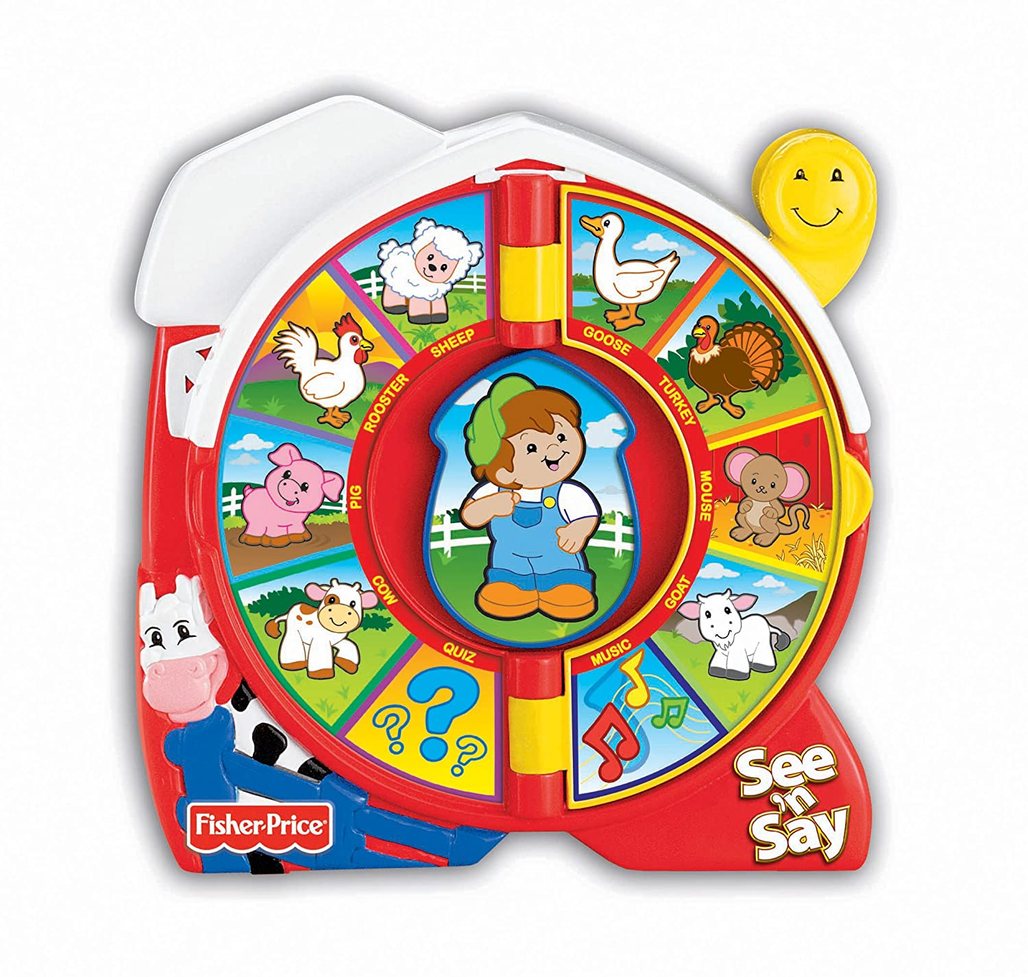Fisher Price See N Say The Farmer Says Toy
