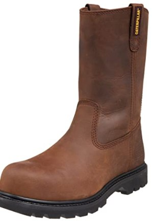 Caterpillar Men's Revolver Pull-On Steel Toe Boot,Dark Brown,11 M US