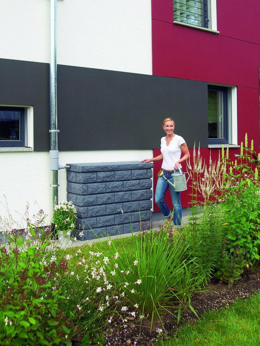 Garantia Rocky Wandtank 400 ltr. Dark Granite von Otto Graf GmbH