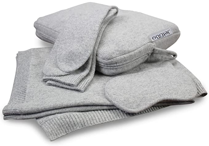 Jet&Bo 100% cashmere scarf, socks and eye mask, pamper yourself