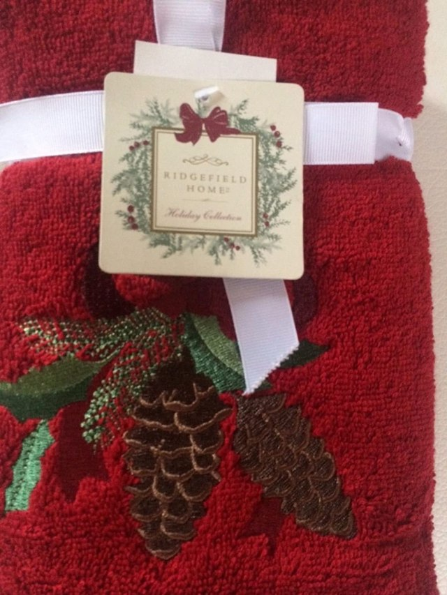 christmas hand towels canada