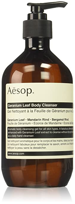 AESOP Geranium Leaf Body Cleanser 16.9 Ounce