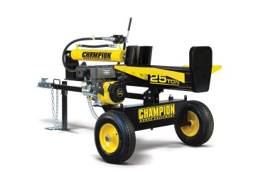 fastest log splitter - Champion