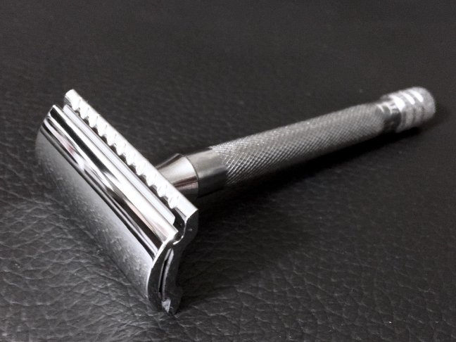 merkur long handled safety razor review