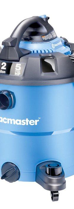 Vacmaster 12 Gallon, 5 Peak HP, Wet/Dry Vac, VBV1210