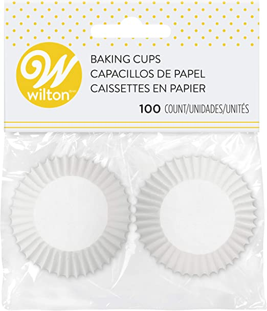 Wilton White Mini Baking and Party Cups - 350 Count