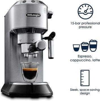 سعر ومواصفات ماكينة القهوة ديلونجي ديديكا ec680 وعيوبها ومميزاتها