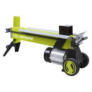 most powerful electric log splitter - Sun Joe