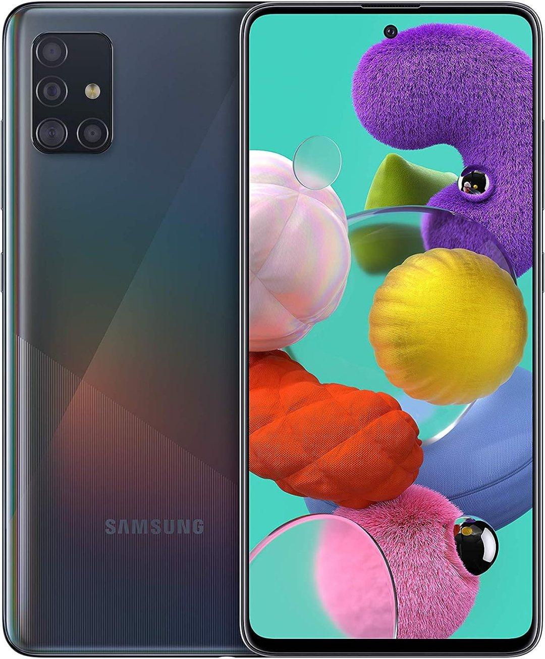 Samsung Galaxy A51 - débloqué 4G (6,5 pouces - 128 Go - android) - noir