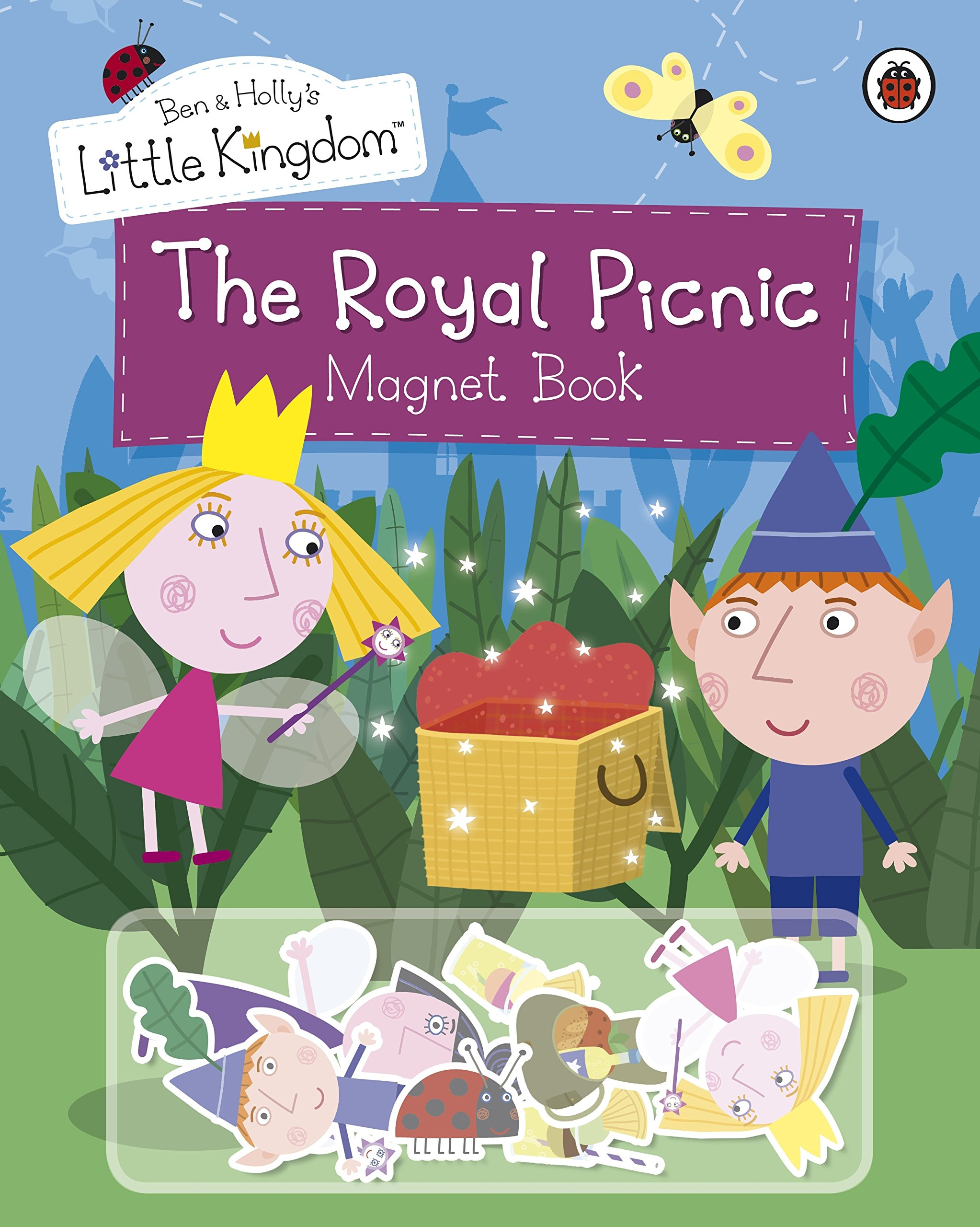Ben And Holly S Little Kingdom The Royal Picnic Magnet Book Ben Holly S Little Kingdom Amazon Co Uk Ben And Holly S Little Kingdom 9781409305330 Books