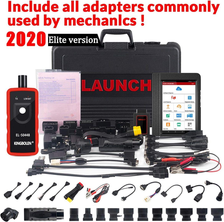 Amazon.com: LAUNCH X431 V (PRO) WiFi/Bluetooth OBD2 Diagnostic ...