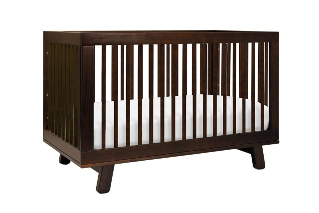 Babyletto Hudson 3-in-1 Convertible Crib with Toddler Bed Conversion Kit, Espresso