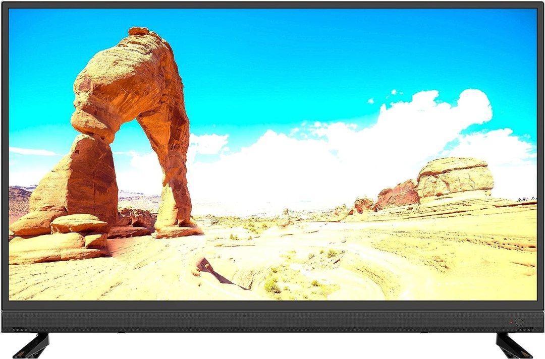 Linsar 40SB100 Téléviseur, 2in1 TV+Soundbar, 40 Pouces avec Barre de Son intégrée, améliorant et maximisant Notre expérience télévisuelle. FHD, HDMI, USB, efficacité énergétique A