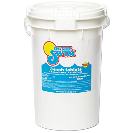 In The Swim 3 Inch Pool Chlorine Tablets 50 lbs