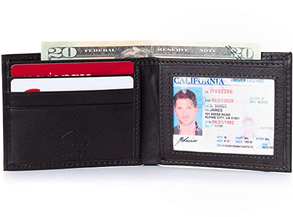 Alpine Swiss Mens WalletBlack Friday Deal 2019