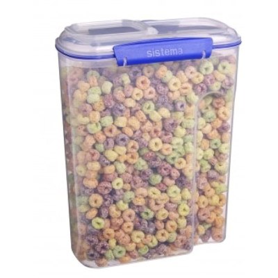 Klip It 1450 142-Ounce Cereal Container by Sistema