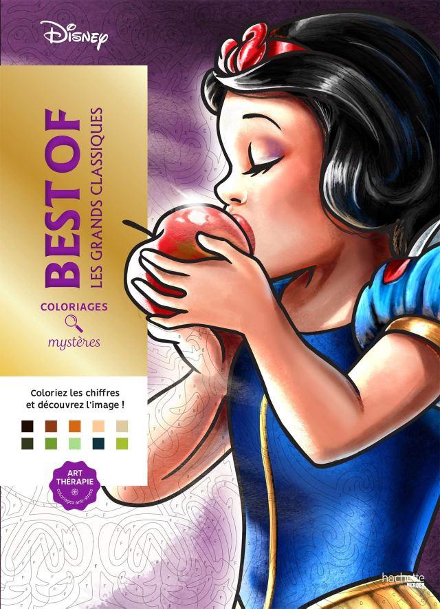 Coloriages mystères Grands classiques Disney Best of : Disney, Bal