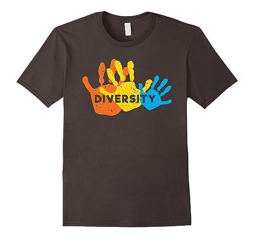 Mens Diversity T-shirt 2XL Asphalt