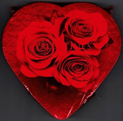 Elmer Chocolate Rose Valentine Heart Box