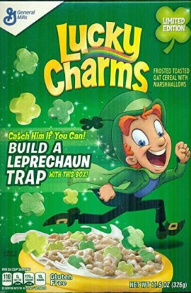 Image result for leprechaun cereal