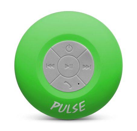 CSJ Pulse Wireless Waterproof Bluetooth 4.0 Shower Speaker - Green