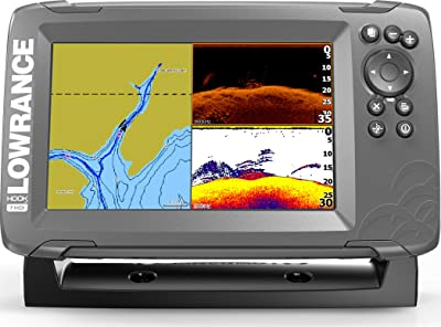 Lowrance HOOK2 7-inch Fish Finder with SplitShot Transducer