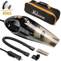 Car Vacuum Cleaner, HikerenWet & Dry Handheld Auto Vacuum Cleaner