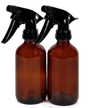 VivaPlex Glass Bottles w/ Trigger Sprayer 8oz