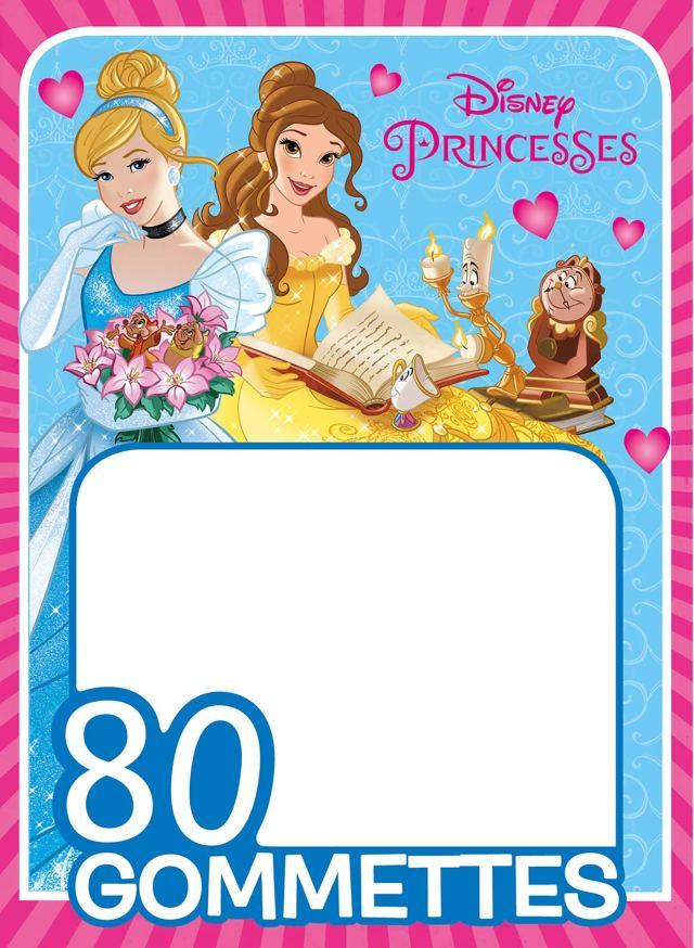 Amazon.fr - Princesses, MES 12 GOMMETTES DISNEY - Disney - Livres