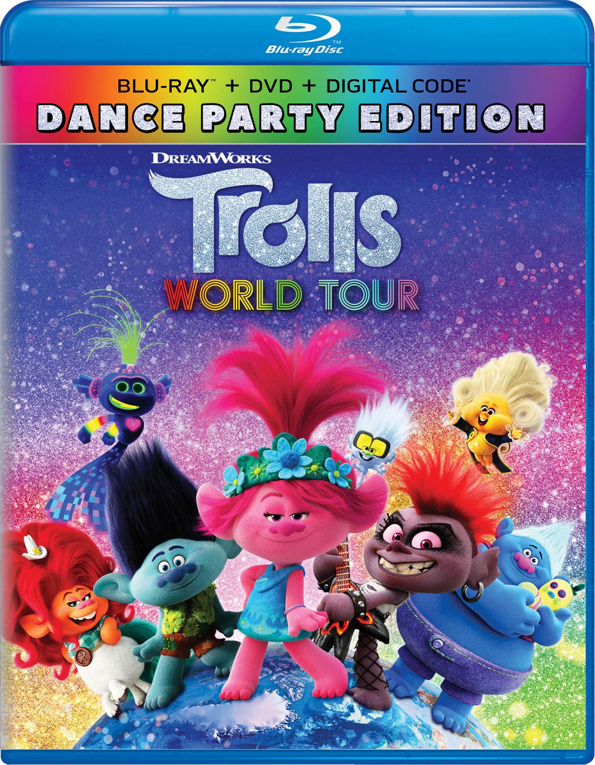 Amazon Com Trolls World Tour Blu Ray Anna Kendrick Justin Timberlake J Balvin Rachel Bloom Flula Blorg Kelly Clarkson James Corden Ester Dean Jamie Dornan Walt Dohrn Movies Tv