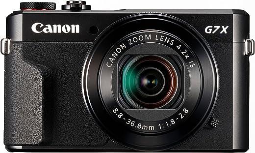 Canon - Powershot G7 X Mark II - Appareil photo numérique compact - Noir