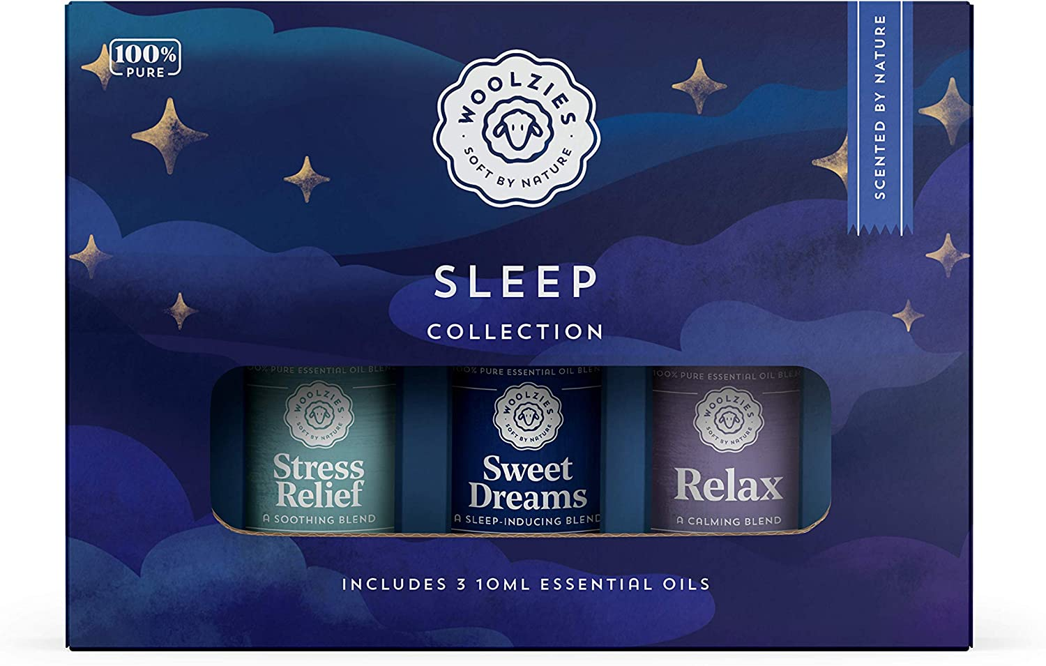 Amazon Com Woolzies Sleep Collection Essential Oil Blend Set Incl Sweet Dreams Relax Stress Relief Oils Helps Sleeping Faster Better Restful Natural Sleeping Aid Reliefs Stress Health Personal