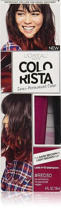 L'Oreal Paris Colorista Semi-Permanent Hair Colour for Brunette Hair