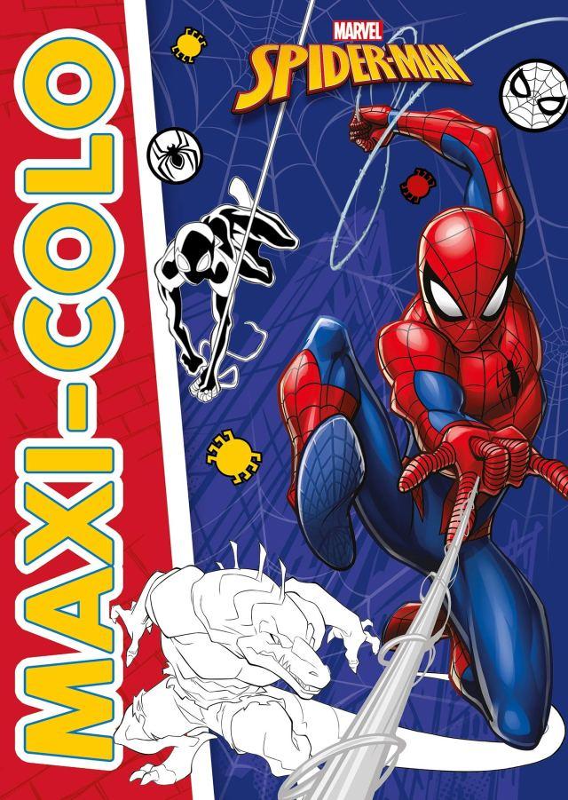SPIDER-MAN - Maxi colo - MARVEL : Hachette Jeunesse: Amazon.fr: Livres