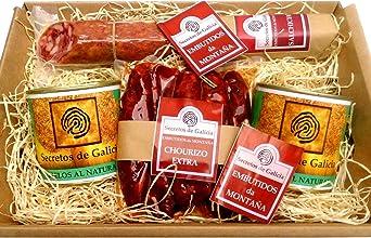 Estuche gourmet Chorizo Extra, Salchichón de Monta&