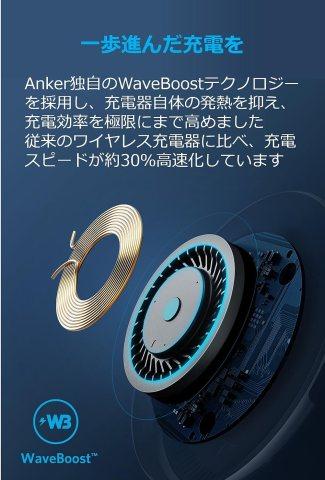 Anker PowerWave 7.5 Pad WaveBoostテクノロジー