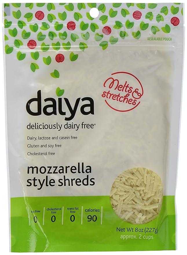 Daiya Dairy Free Cheese Shreds, Mozzarella, 8 oz