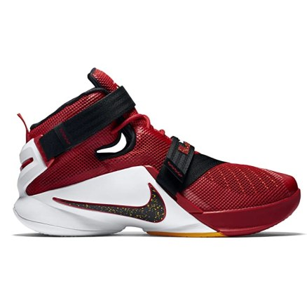 Nike Lebron Soldier Ix Sz 10.5 Mens Basketball Shoes Red New In Box