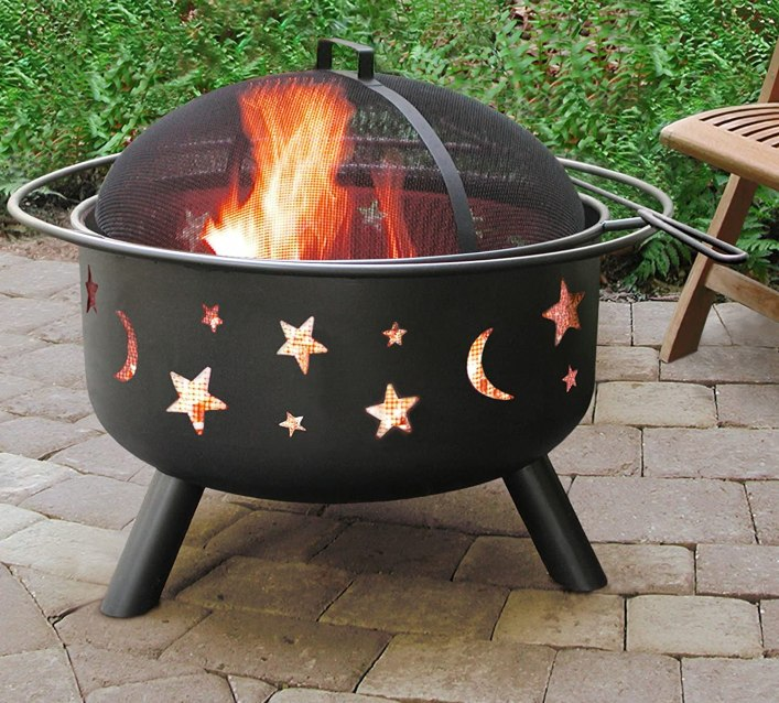 best outdoor fire pit for wooden deck