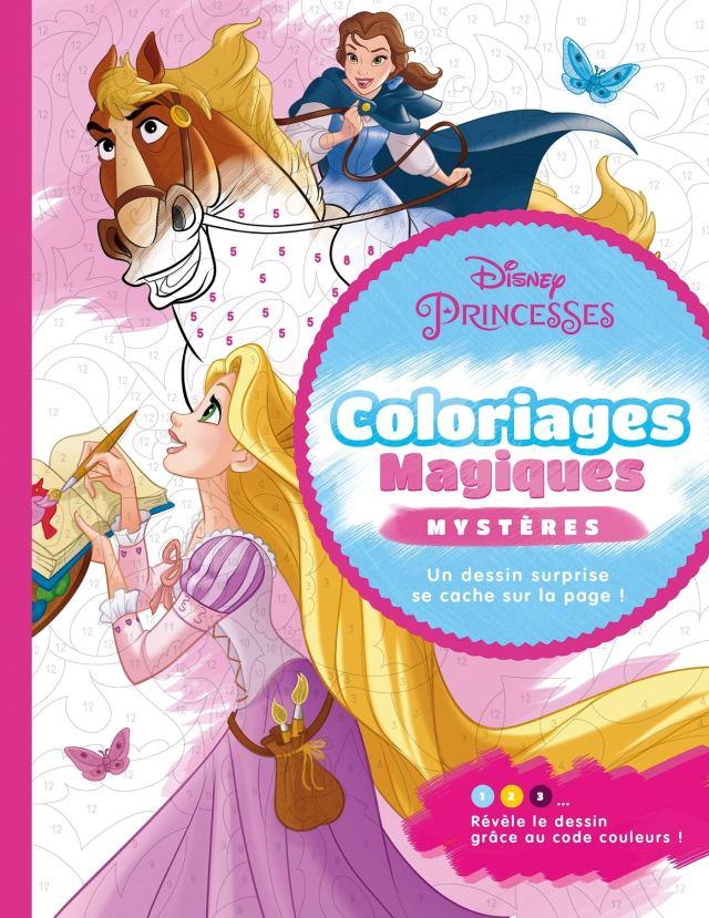 DISNEY PRINCESSES - Coloriages Magiques - Mystères : Marie, Sophie