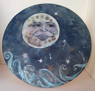 Image result for man in the moon painting