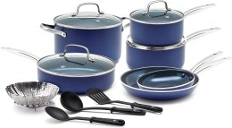 Blue Diamond Pan Cookware-Set, 14 Piece