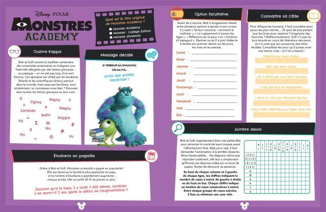 Cahier de vacances pour adulte Disney 23: 23 jeux, tests et