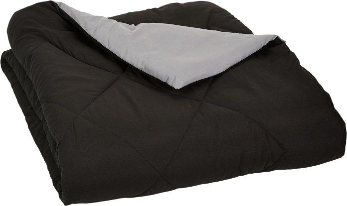 Reversible Microfiber Comforter Blanket - Full or Queen